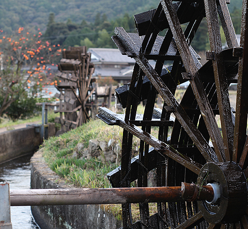 神河町 新野の水車